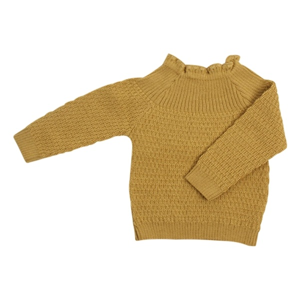 Selana Uld Sweater - Gold