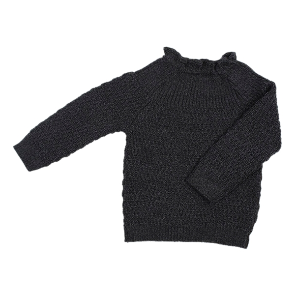 Selana Uld Sweater - Space