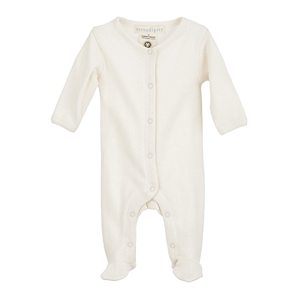 Image of   Serendipity Newborn Suit Pointelle