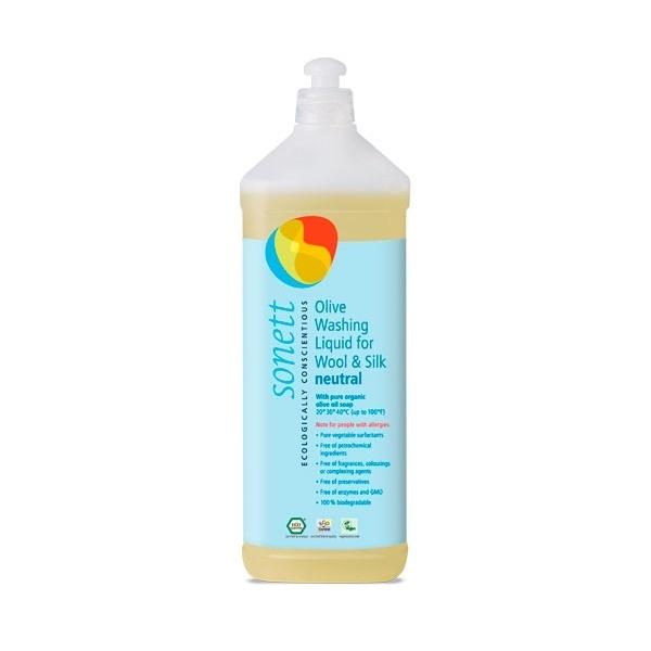 N/A – Olivenvaskemiddel neutral til uld/silke 1l fra parcellet