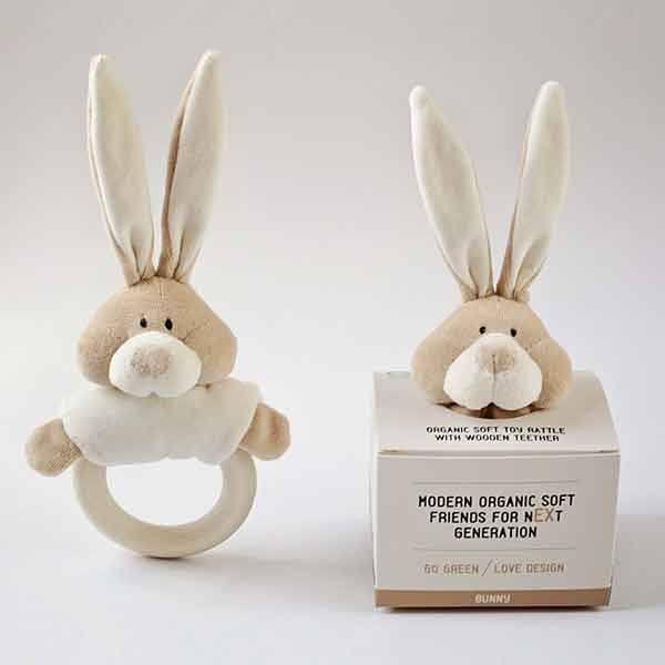 Wooly organic bunny rangle m. bidering fra N/A på parcellet