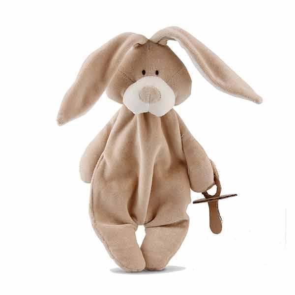 Wooly organic bunny nusseklud m. sutteholder fra N/A fra parcellet