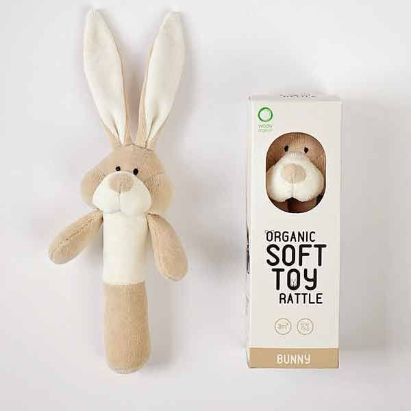 N/A Wooly organic bunny rangle fra parcellet