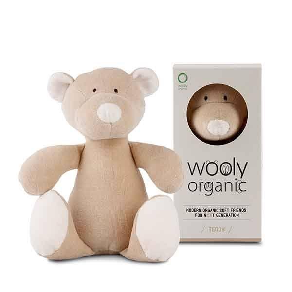 N/A – Wooly organic teddy - lille på parcellet