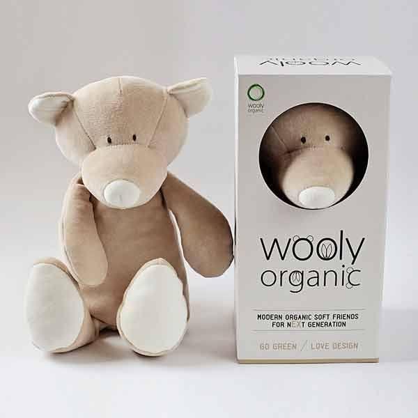 N/A Wooly organic teddy - stor på parcellet