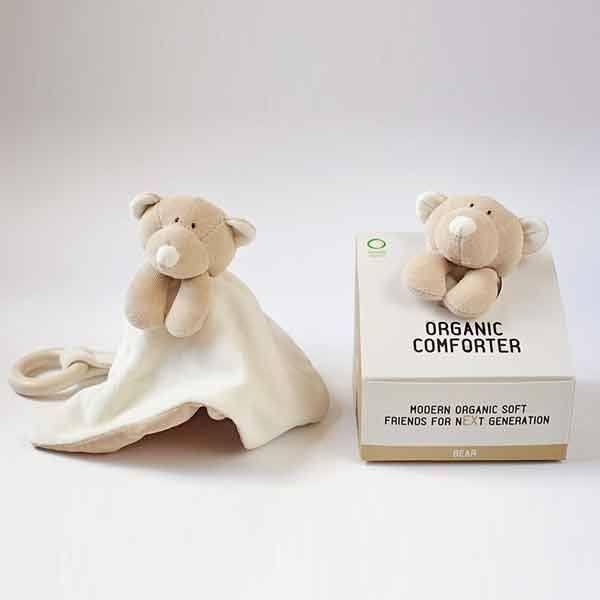 Wooly organic teddy nusseklud fra N/A på parcellet