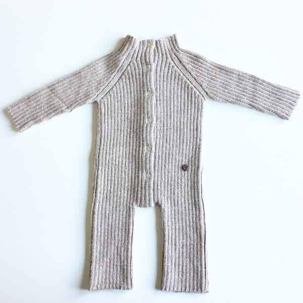 Esencia jumpsuit i alpaca - pebble fra N/A på parcellet