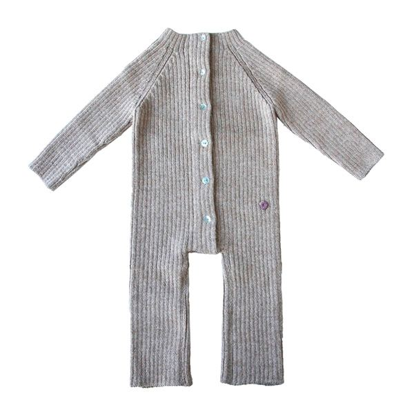 esencia Jumpsuit i Alpaca - Pebble