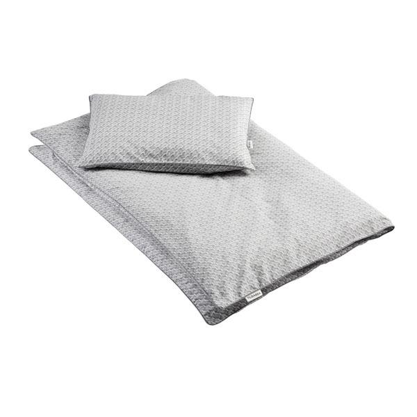 N/A – Baby sengetøj fra filibabba - ocean grey på parcellet