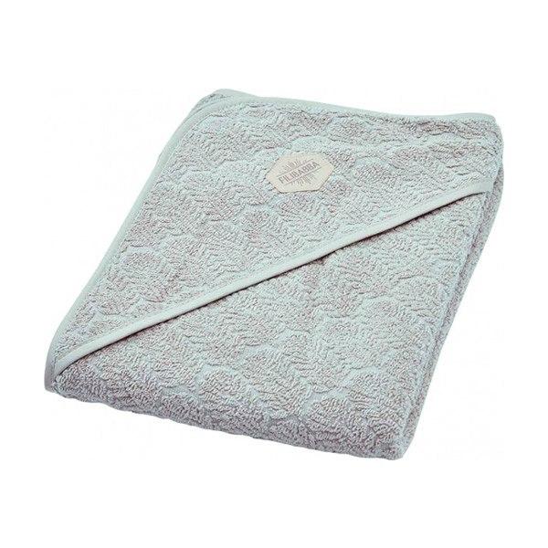 N/A Babyhåndklæde fra filibabba - indian grey fra parcellet