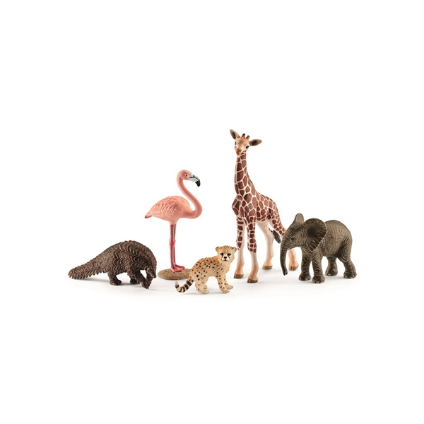 Image of   Schleich 5 Wild Life Animals