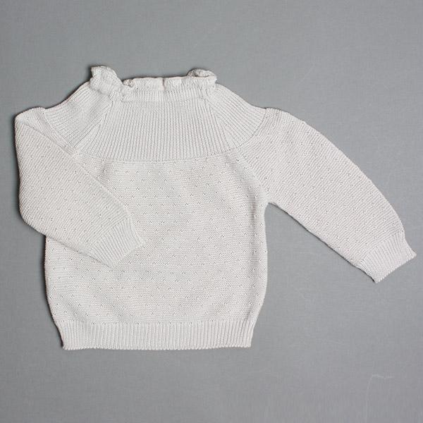 Selana Sweater Bomuld - Dune