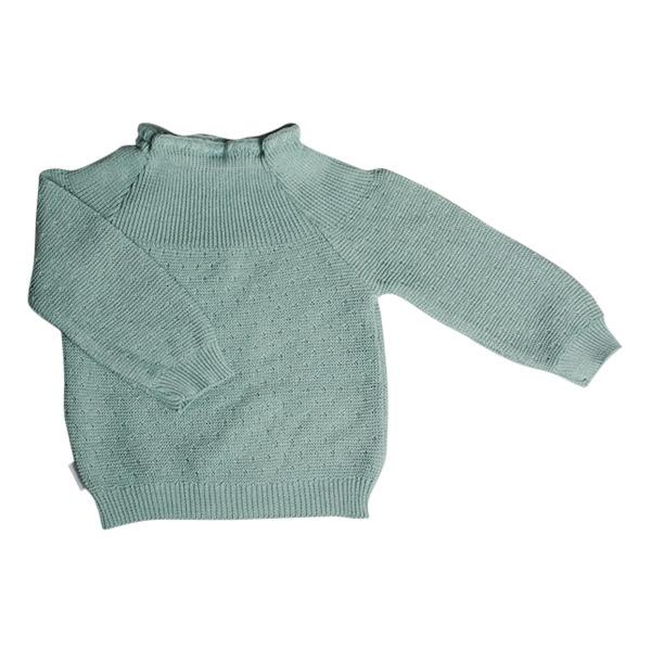 Selana Sweater Bomuld - Green