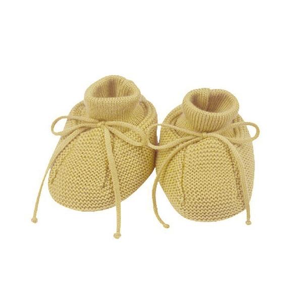 Selana Uld Babyfutter - Gold