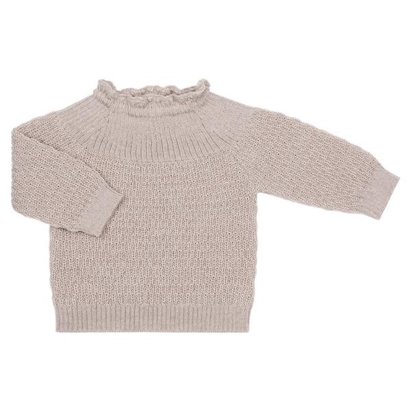 Selana Uld Sweater - Beige
