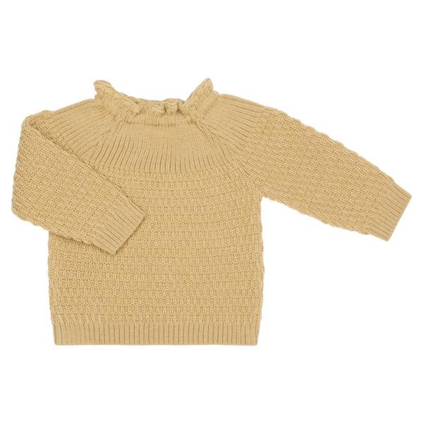 Selana Uld Sweater - Gold