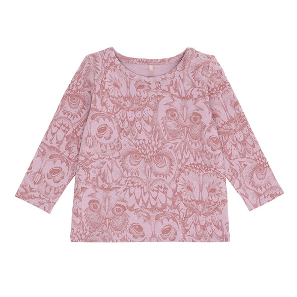 Image of   Soft Gallery Owl Bluse - Mauve Shadows