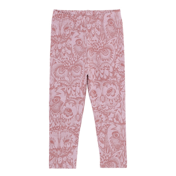 Image of   Soft Gallery Owl Leggings - Mauve Shadows