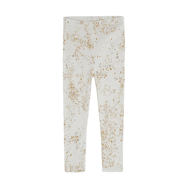 Image of   Soft Gallery Cream Mini Splash Leggings