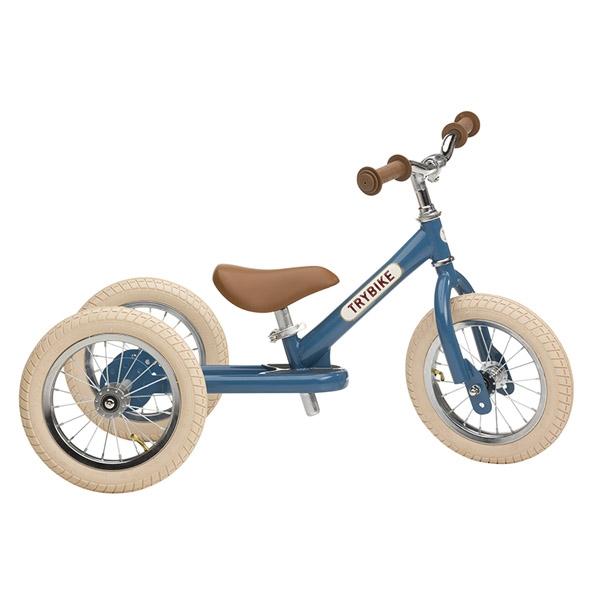 Image of   Trybike 3-hjulet Løbecykel - Blå