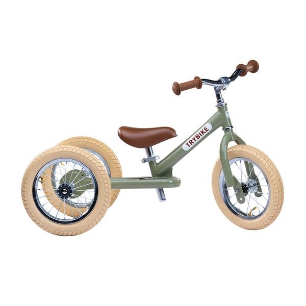 Image of   Trybike 3-hjulet Løbecykel - Grøn