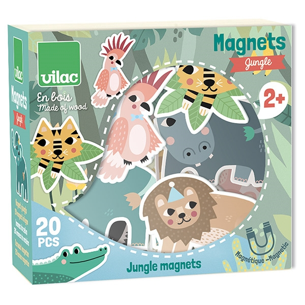 Vilac Magneter – Safari Dyr