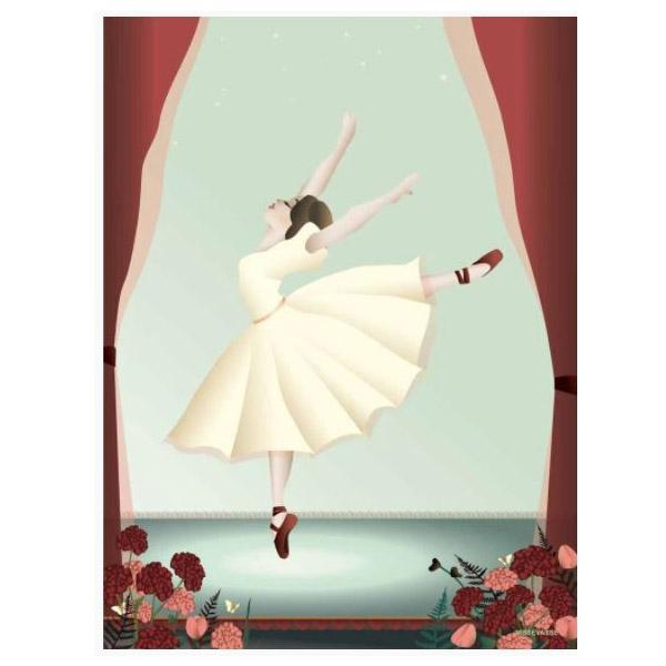 ViSSEVASSE Plakat Ballerina