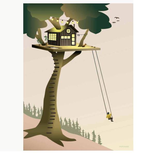 ViSSEVASSE Plakat Tree House