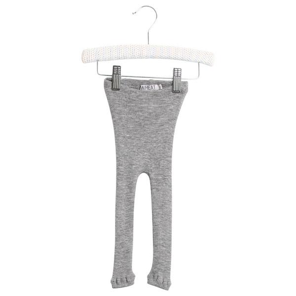 Image of   Wheat Uld Grey Melange Leggings