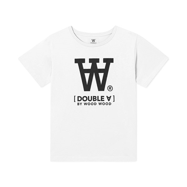 Wood Wood Double A T-shirt White - Økologisk børnetøj - Wood Wood