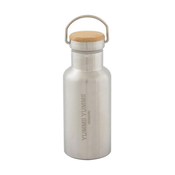 Image of   Yummii Yummii Termo Flaske 350ml - Bambus Låg