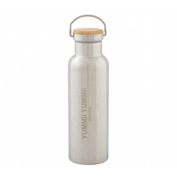 Image of   Yummii Yummii Termo Flaske 600ml - Bambus Låg