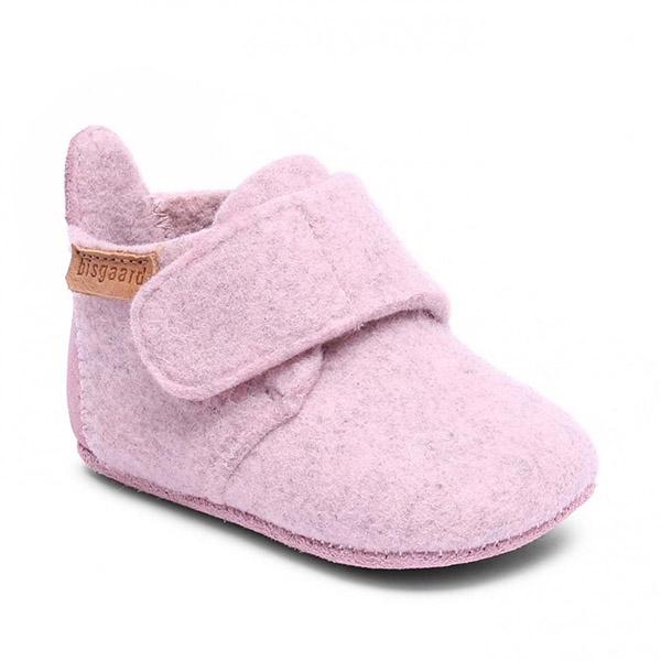 Bisgaard Baby Wool Hjemmesko – Blush