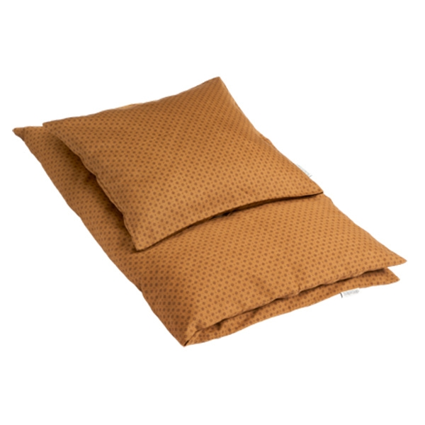 by KlipKlap JUNIOR sengetøj Indian Diamonds - Brown