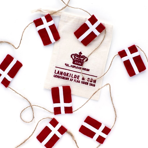 Image of   Langkilde & Søn - Lille flagranke