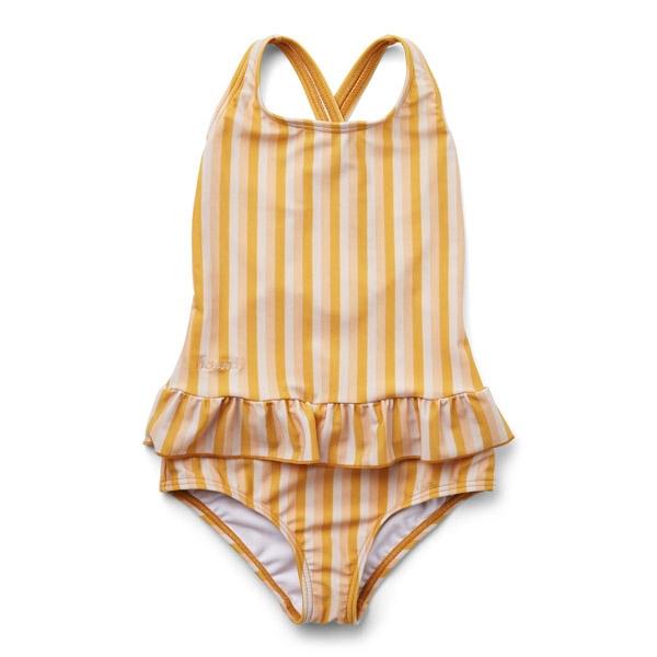 Liewood UV Badedragt Amara - Peach/Sandy/Yellow