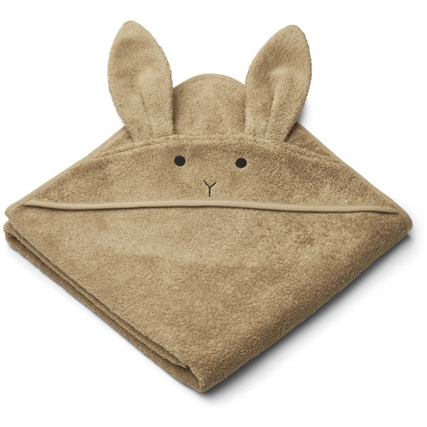 Liewood Babyhåndklæde Rabbit – Oat