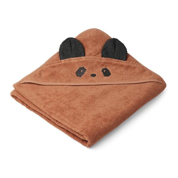 Liewood Babyhåndklæde Panda – Rose