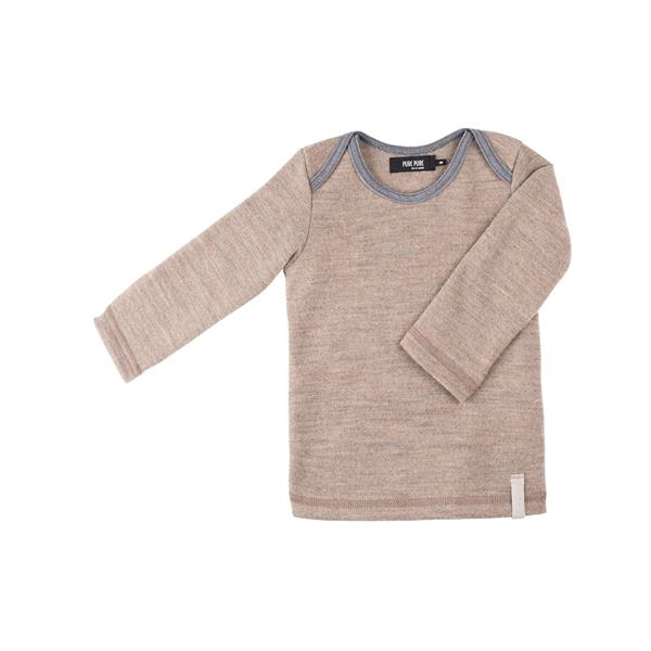 Pure Pure Uld Baby Bluse - Cashmere
