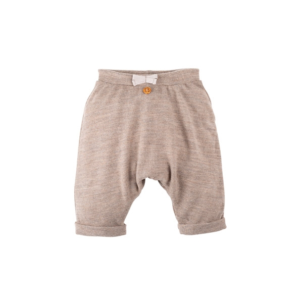 Pure Pure Uld Baby Bukser - Cashmere