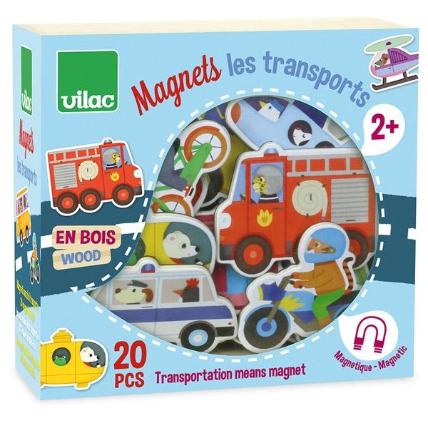 Vilac Magneter – Transportmidler
