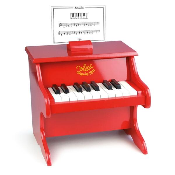 Vilac Piano – Rød