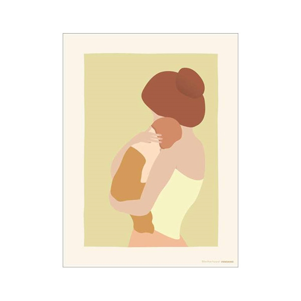 ViSSEVASSE Kort m. Kuvert - Motherhood