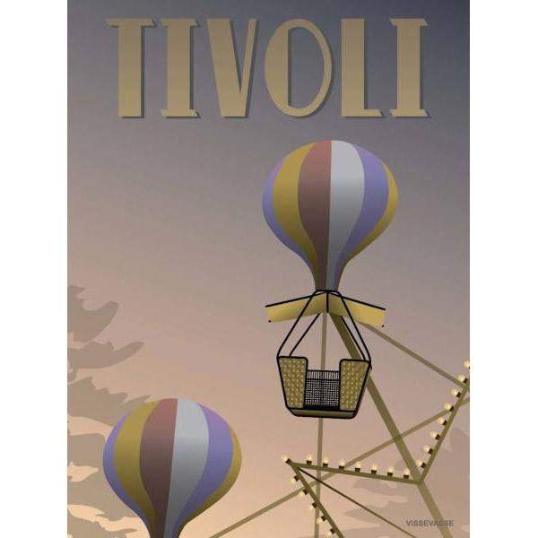 ViSSEVASSE Plakat Tivoli - Ballongyngerne