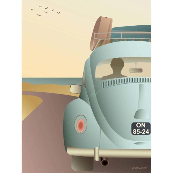 ViSSEVASSE Plakat VW Beetle