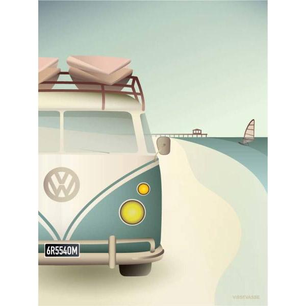ViSSEVASSE Plakat VW Camper
