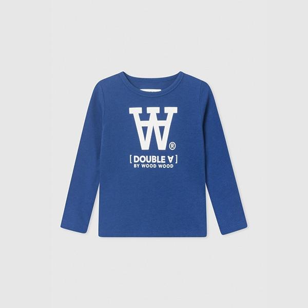 Wood Wood Bluse Blue - Økologisk børnetøj - Wood Wood
